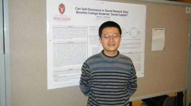 Congratulations to Dong Liu!